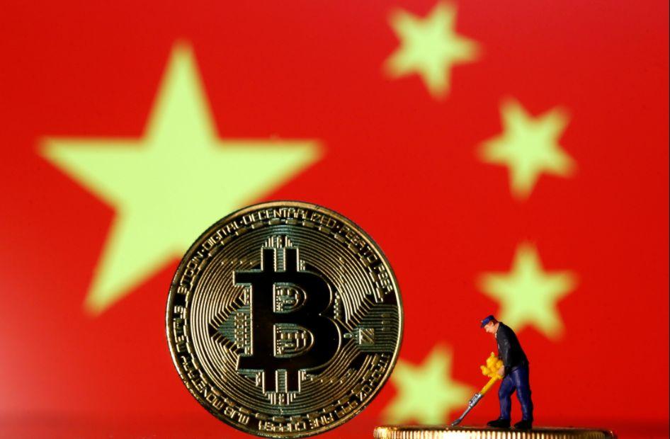 Crypto en blockchain in China, mining