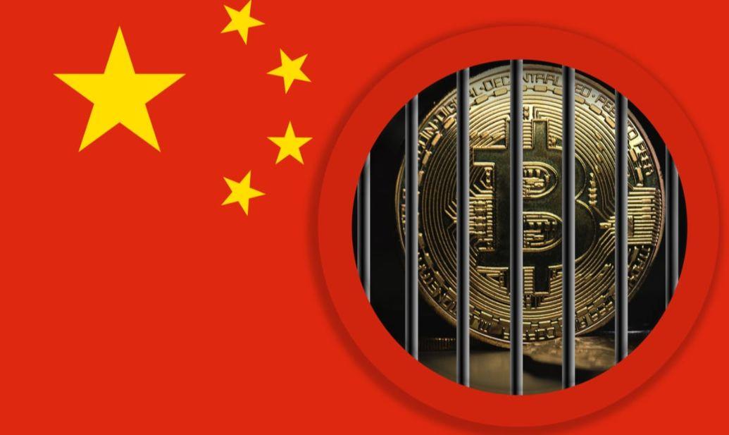 Crypto en blockchain in China, BTC in de gevangenis