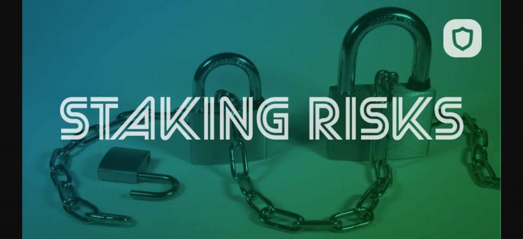 Staken of sparen, risico's van staken